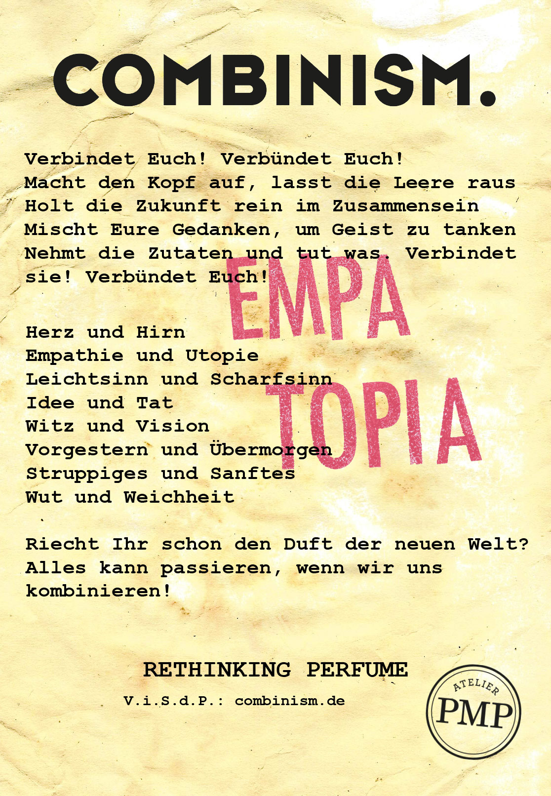 Manifest Combinism Deutsch