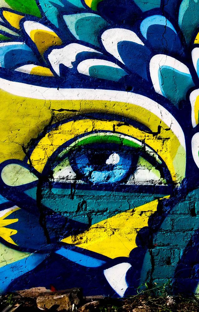 Graffiti von Nardstar* für Concrete Flower