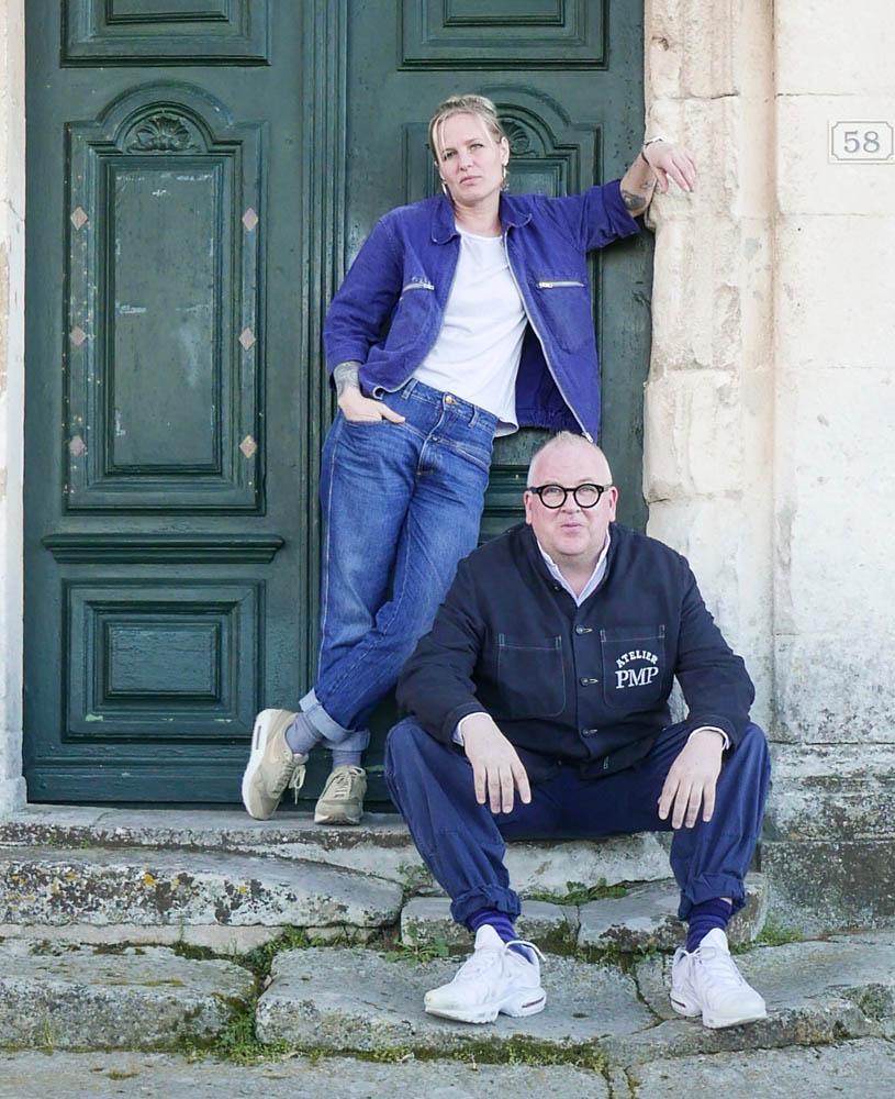 Steffi und Daniel, Inhaber von AtelierPMP