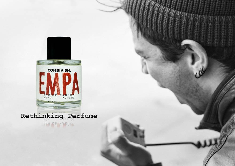 Rethinking Perfume EMPA Kampagnenbild